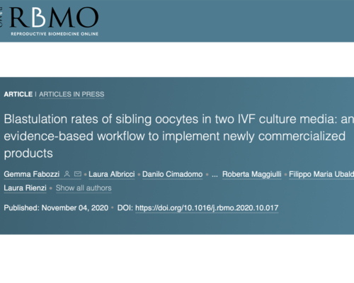 On 'RBMO' a GeneraLife paper on embryo culture media