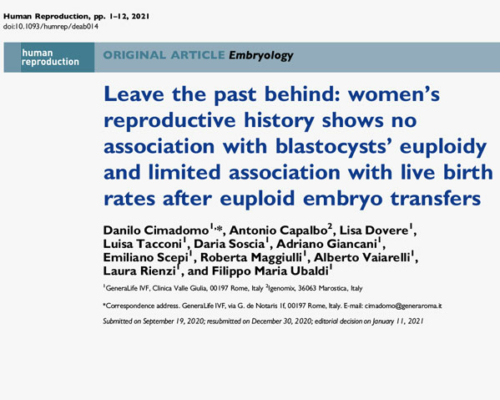 Failure of 1 or more IVF cycles does not negatively affect future treatments